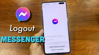 How To Logout Fŗom Facebook Messenger On Android Easy And Fast 2021