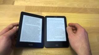 Tolino Vision 3 HD vs. Kindle Voyage - Vergleich