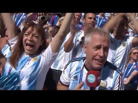 Así vivieron el partido Marley y Susana - Por El Mundo Mundial thumbnail