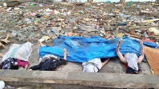 Hình ảnh đau thương sau vụ động đất-sóng thần kinh hoàng ở Indonesia
