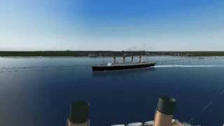 The titanic story on ship simulator 2008 part 1