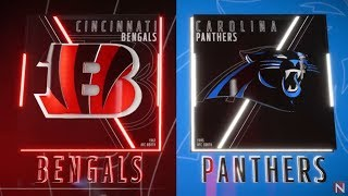 Cincinnati Bengals vs Carolina Panthers Madden 19 Full Game Simulation Nation