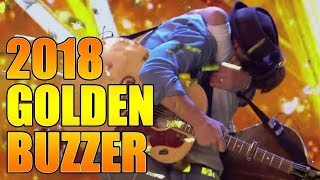 Jack and Tim Golden Buzzer Father Son Duo Britain's Got Talent 2018 Audition|GTF