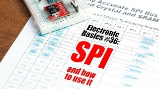 Electronic Basics #36: SPI and how to use it