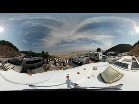360 Video 4k Total Solar Eclipse Casper Wyoming 2017 Part 2/5