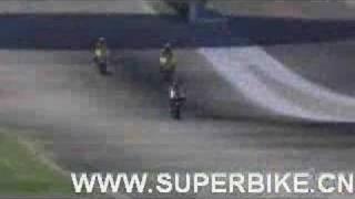 Moto GP 06 - Video Game Crash Video