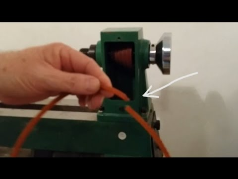 hqdefault how to replace drive belt for 65345 mini lathe