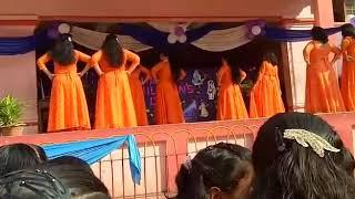 Children's day special dance performance by teachers of Carmel school, Rourkela.