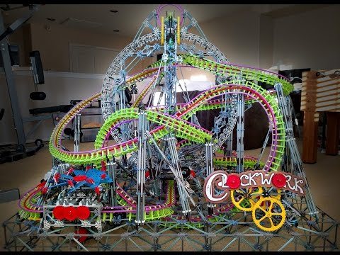 Clockwork - K'nex Roller Coaster