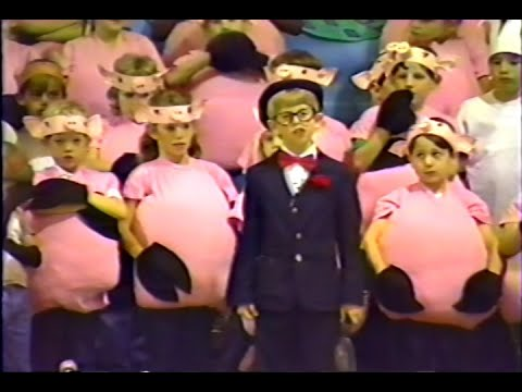 Westbury Christian School - Wackadoo Zoo - 1984