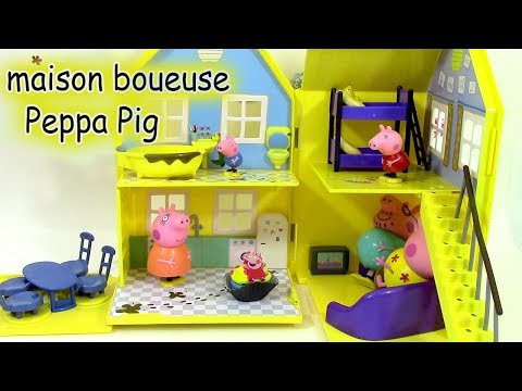 La Grande Maison Boueuse de Peppa Pig Jouet Play Doh ♥ Muddy Puddle Deluxe Playhouse