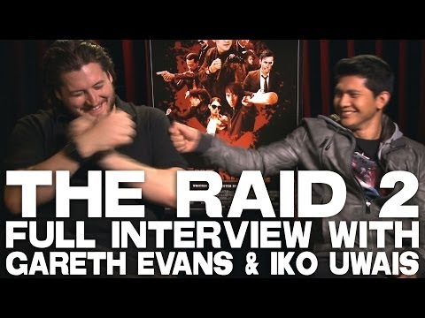 THE RAID 2 Full Interview With Gareth Evans & Iko Uwais