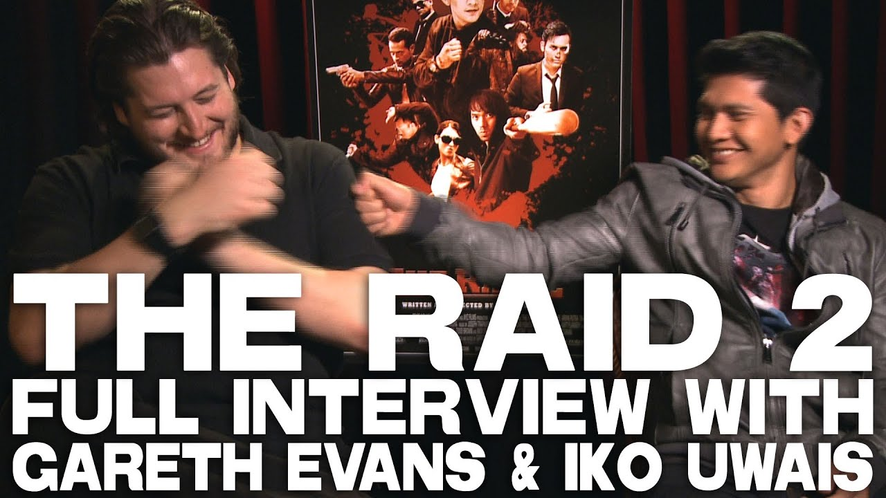 The Raid 2 Full Interview With Gareth Evans Iko Uwais