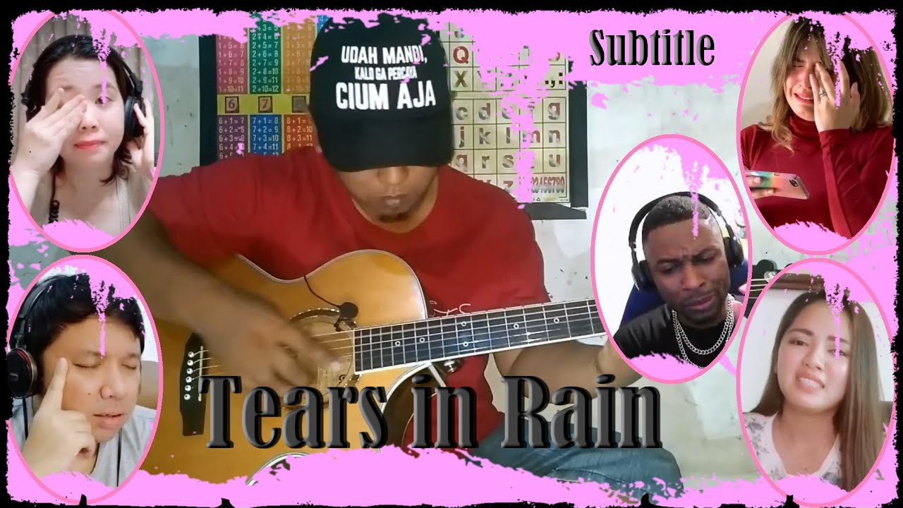 Kiss the Rain (Yiruma) - Guitar Cover by Alip Ba Ta - Teary Reaction
