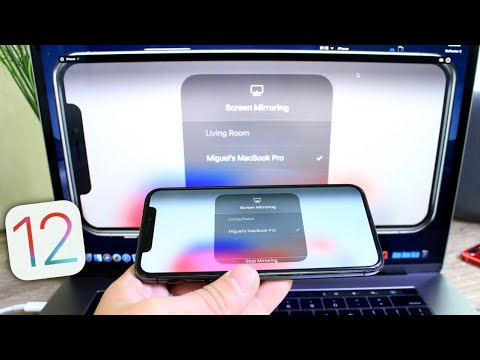 How to mirror iPhone display To MacBook iOS 12 & MacOS Mojave