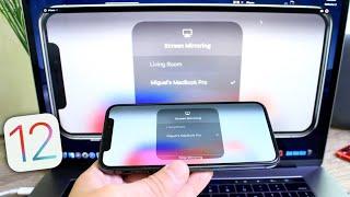 How to mirror iPhone display To MacBook iOS 12 & MacOS Mojave