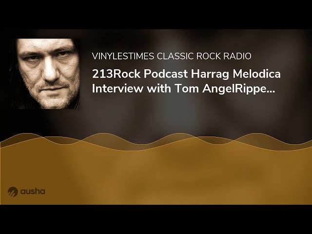 213Rock Podcast Harrag Melodica Interview with Tom AngelRipper of Sodom New album Genesis XIX Out...