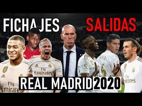 AS SER EL REAL MADRID DEL 2020   RUMORES - FICHAJES -SALIDAS   HAY SORPRESAS?