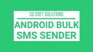 ANDROID BULK SMS SENDER IN TAMIL - ANDROID BULK SMS SENDER screenshot 5