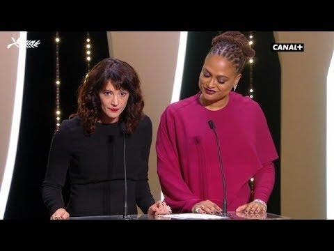 Le discours engagé d'Asia Argento - Cannes 2018