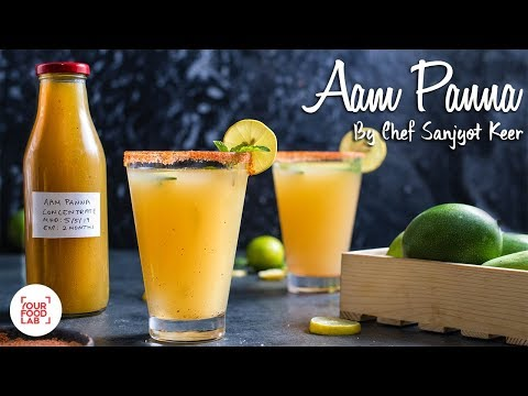 Aam Panna Recipe  Summer Special Aam Panna Concentrate   Chef Sanjyot Keer