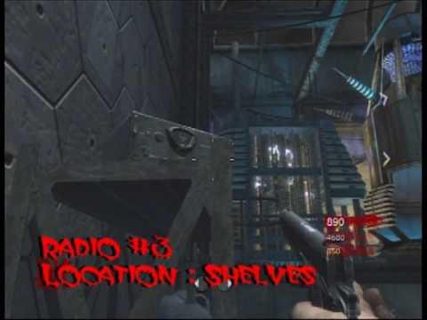 """Call of Duty World at War : Der Riese """"Hidden Easter Eggs"""" Radios , Little Girl , Music"""