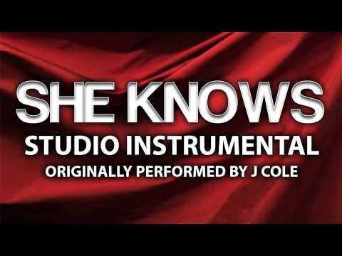 She Knows (Cover Instrumental) [In the Style of J Cole feat. Amber Coffman & Cults]