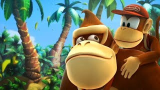 Donkey Kong Country Returns - Full Game 100% Walkthrough (Worlds 1 to 9)