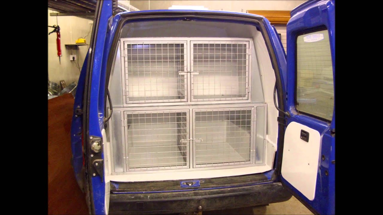 Custom Made Dog Cages For Vans Ireland