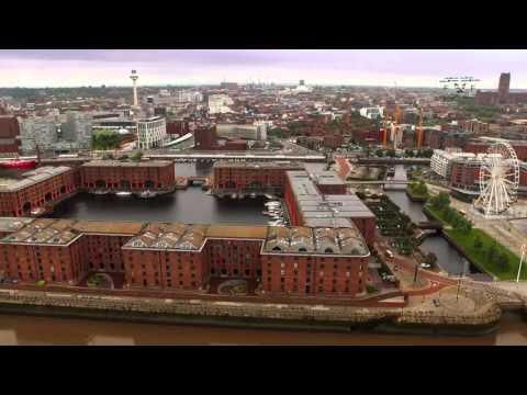 Liverpool & Merseyside Example Aerial Montage Uav drone footage