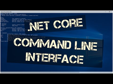 .NET Core Command Line Interface (CLI) | Learn the Basics