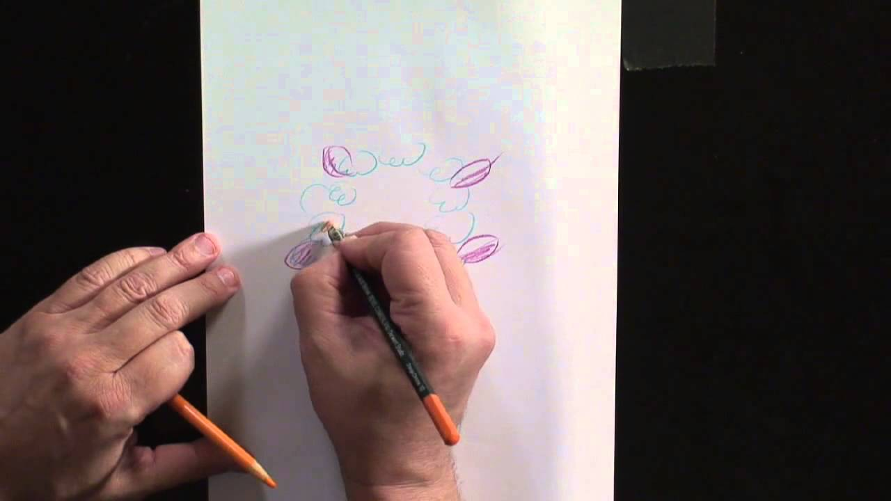 How To Draw Hawaiian Flowers Youtube