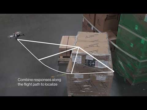 Using drones in large warehouses to prevent inventory mismatches