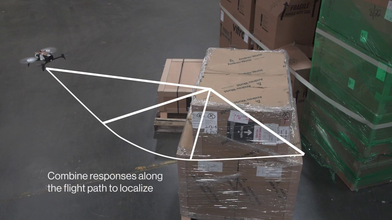 Drones relay RFID signals for inventory control | MIT News