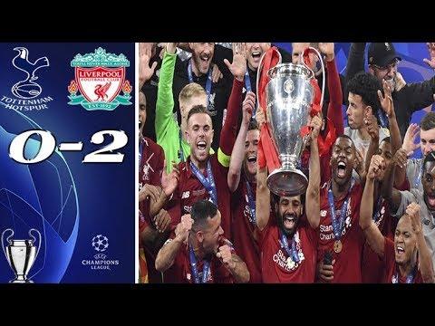 بتعليق رؤوف خليف ملخص + تتويج ليفربول وتوتنهام 2-0 شاشة كاملة ᴴᴰ 🏆