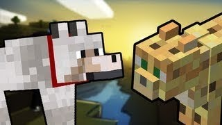 Minecraft - Рэп Битва 2 - Оцелот vs Волк