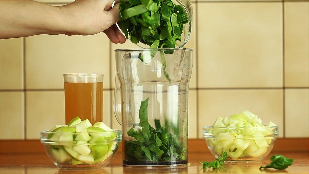 Смузи из шпината и сельдерея - Рецепты от Со Вкусом