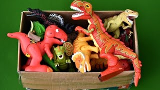 New Dinosaurs Box Toys Walking Dinosaur Light And Sound T Rex Spinosaurus
