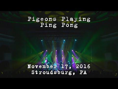 Pigeons Playing Ping Pong: 2016-11-17 - Sherman Theatre; Stroudsburg, PA [4K]