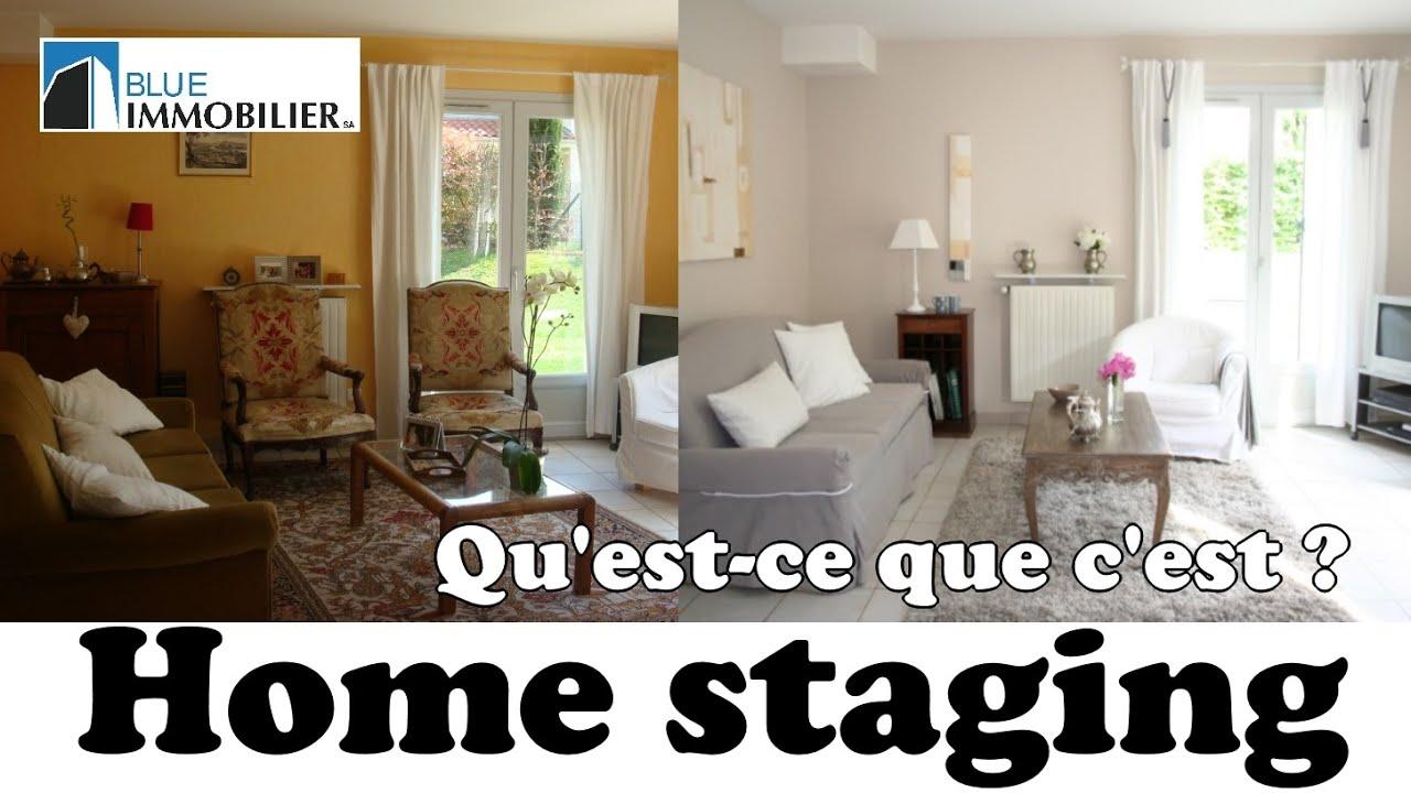 HOME STAGING - QU'EST CE QUE C'EST ? (partie 1) - YouTube