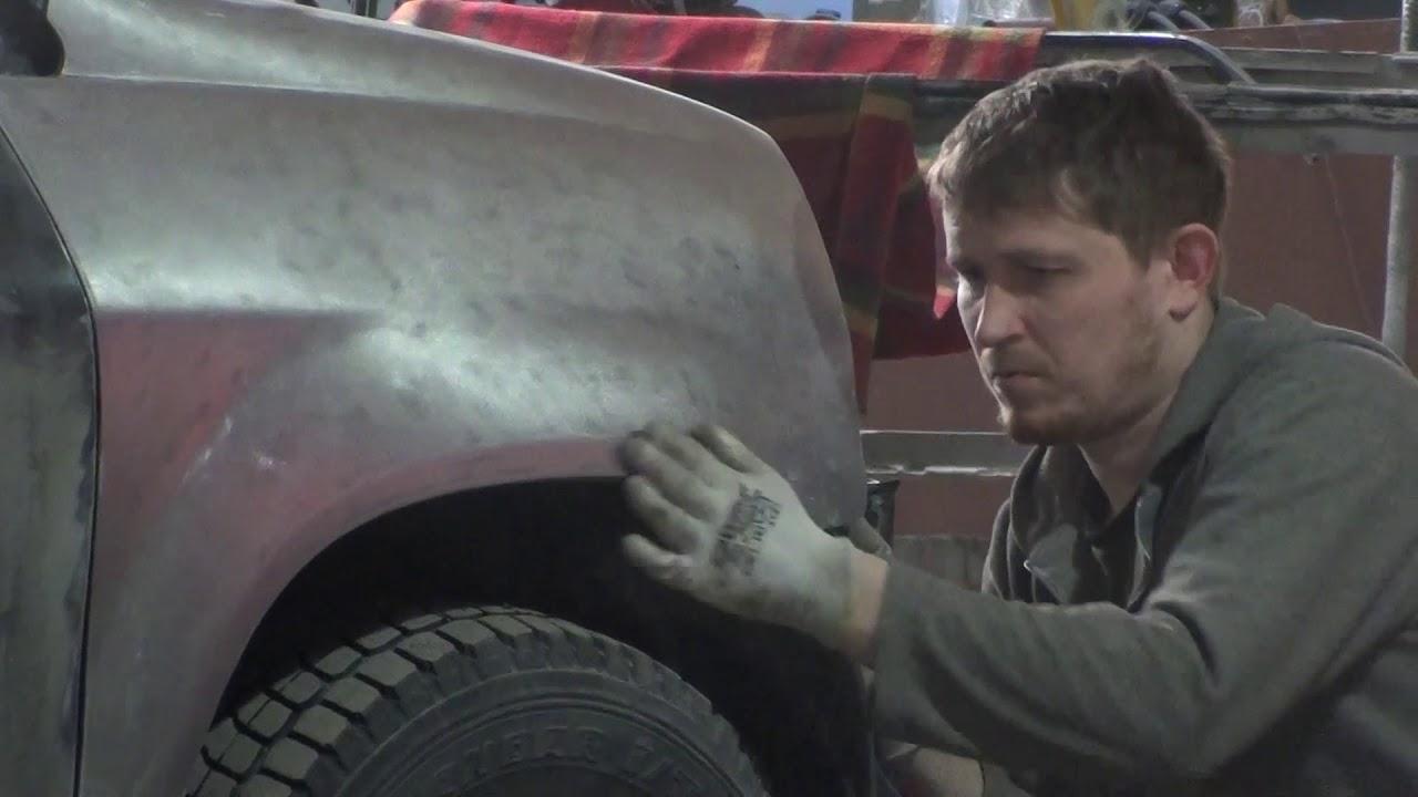 Кузовной ремонт ACURA MDX  Начнем с морды лица