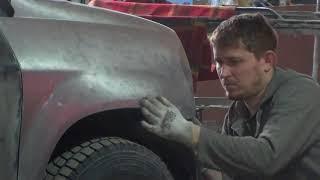 видео кузовной ремонт acura, кузовной ремонт акура