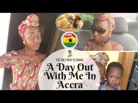 VLOG: A Day Out With Me In Accra, Ghana