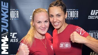 DWCS 11: Antonina Shevchenko full post-fight interview (with Valentina Shevchenko)