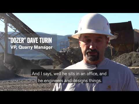 Aggregates Operations In Mt. Hood Rock Is A Family Affair For Jim Turin And Sons
