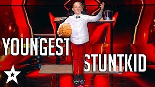 Youngest Ringmaster Does CRAZY Stunts on Germany