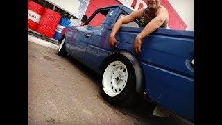РУССКИЙ ПИКАП #3 Двигатель. Запуск. Запах жжёной резины. Russian Custom pickup.