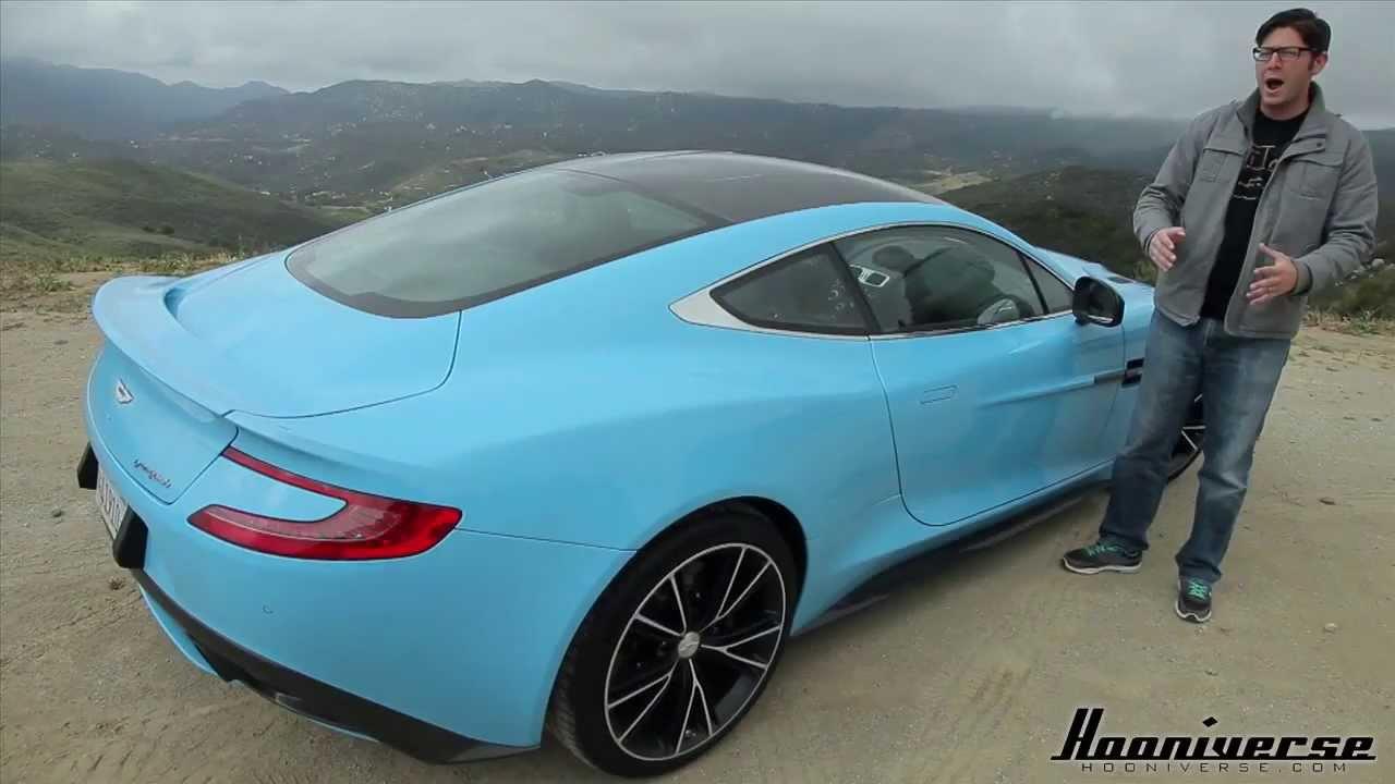 Aston Martin Vanquish S Review  Top Gear