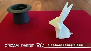 Vídeo: Conejo Origami de Alan Wong