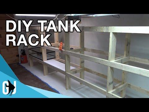 #594: HOW TO: DIY DADO CUT AQUARIUM RACK TIMELAPSE BUILD - Update Monday